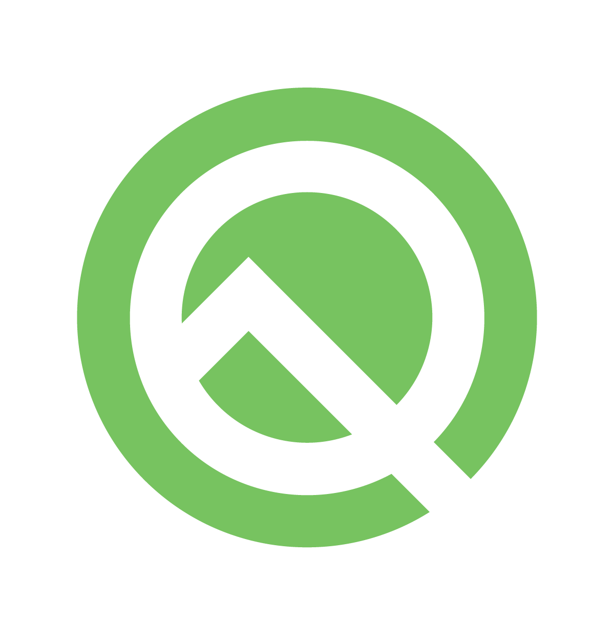 Logotipo de Android Q Beta