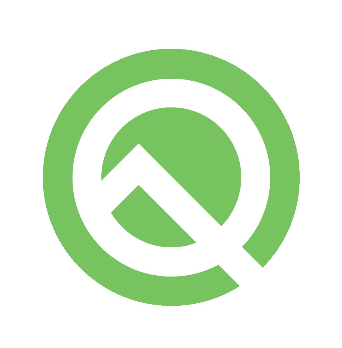 Android Q 测试版徽标