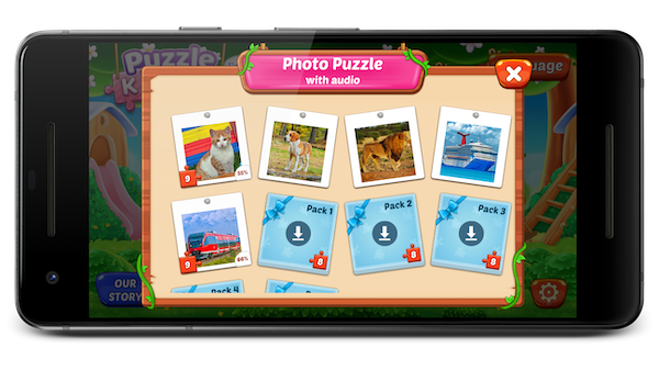 Puzzle Kids 游戏