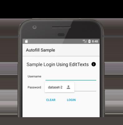 '데이터 세트-2'를 사용 가능한 데이터 세트로 표시하는 자동 완성 UI