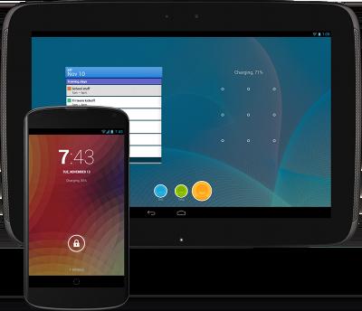 スマートフォンおよびタブレットでの Android 4.2