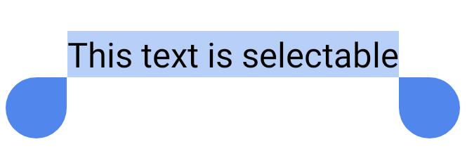 사용자가 선택한 짧은 텍스트 문구