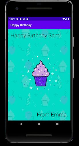 Aprenda a criar um app como este no curso de noções básicas do Android