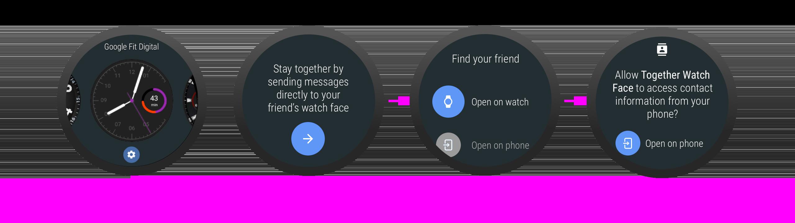在启动时请求权限时,应用可以说明它为何需要该权限。