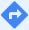 Google 地图中的导航按钮。