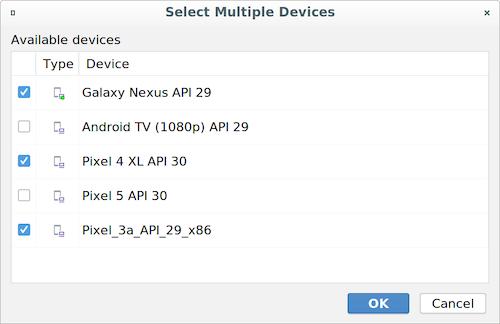 [Modify Device Set] ダイアログ