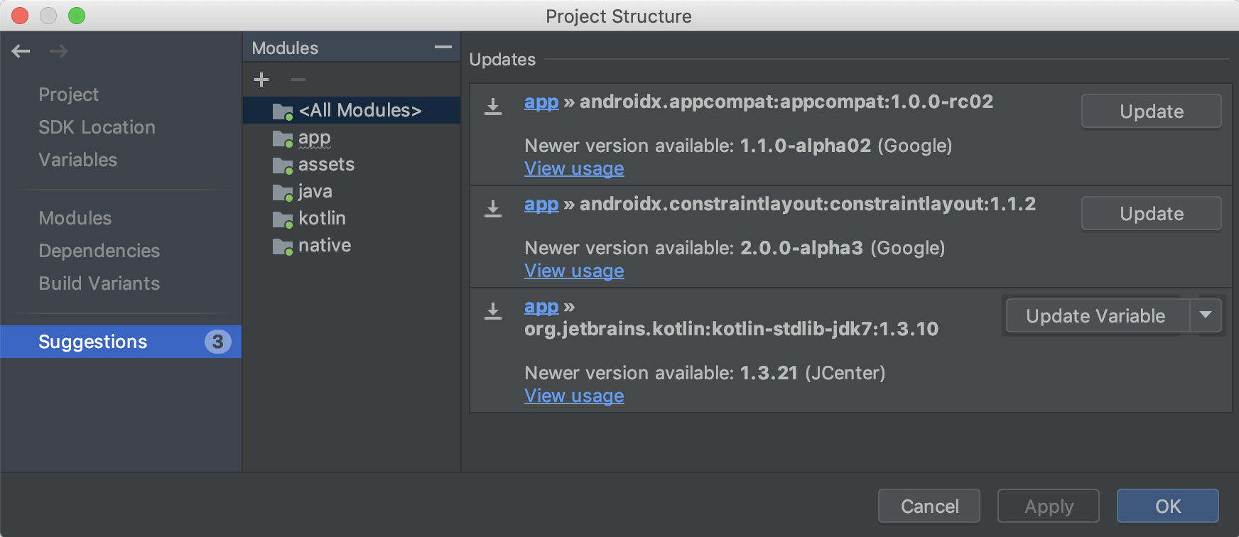 Android Studio release notes | Android 开发者 | Android