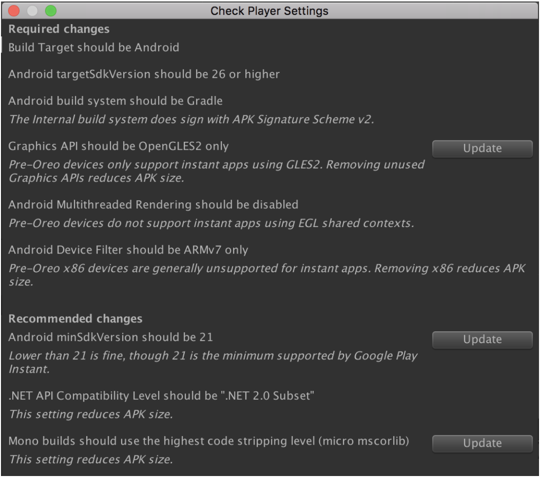 具体建议包括仅使用 OpenGL ES 2.0 和停用多线程渲染功能。