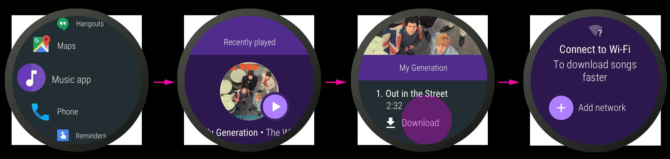 Descarga de música